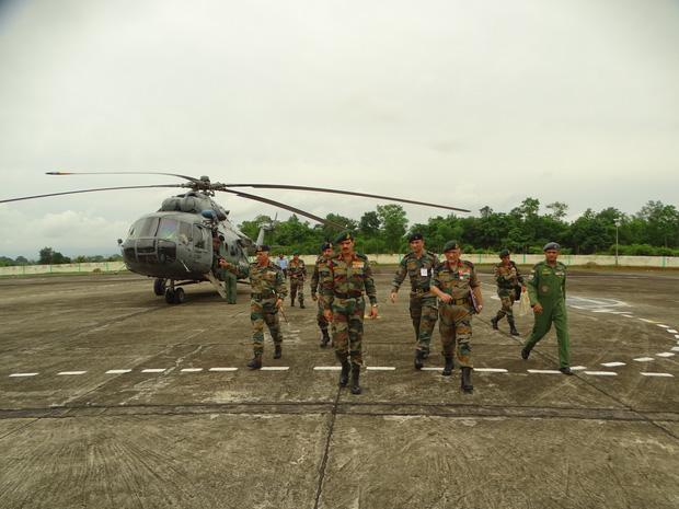 सेना अध्यक्ष ने पूर्वी कमान का दौरा किया