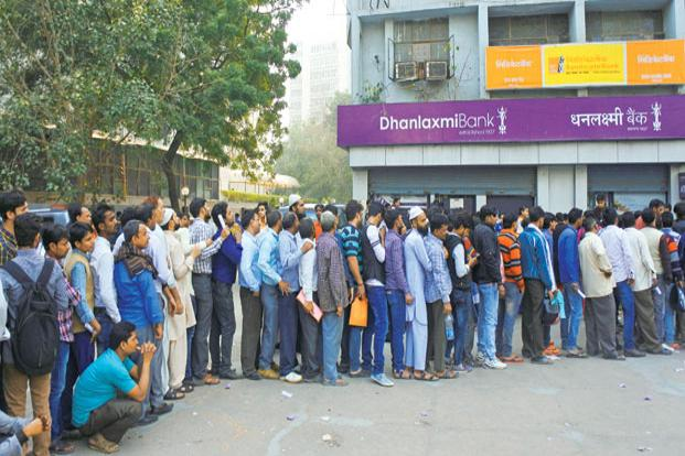 Demonetisation drive led to short-term cash crunch, hit small and medium enterprises. Photo: Ramesh Pathania/Mint
