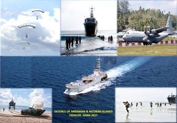 Defence Of Andaman Amp Nicobar Islands Exercise Danx 17