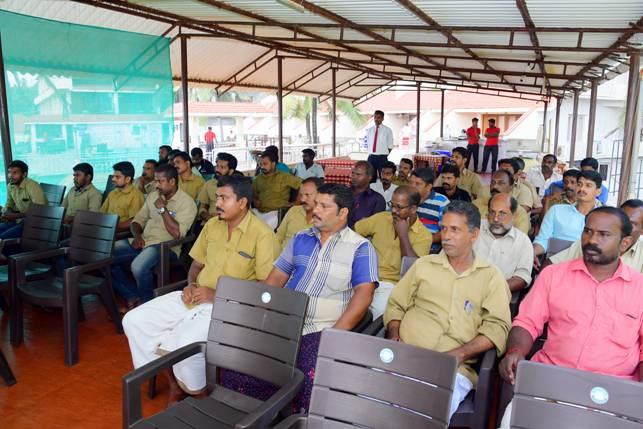 IHMCT Kovalam_Athithi devo bhava workshop for Auto drivers_19th.JPG