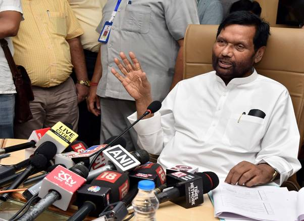 Union Minister Of Consumer Affairs Food And Public Distribution Shri Ram Vilas Paswan Lays Down The Future Roadmap For Food Corporation Of India Fci