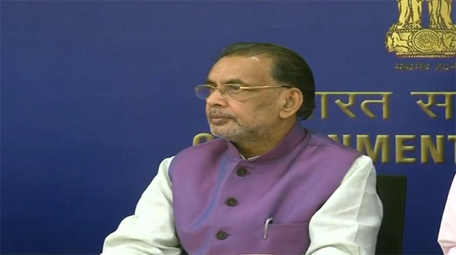 Video Conference by Union Agricultural Minister Shri Radha Mohan Singh