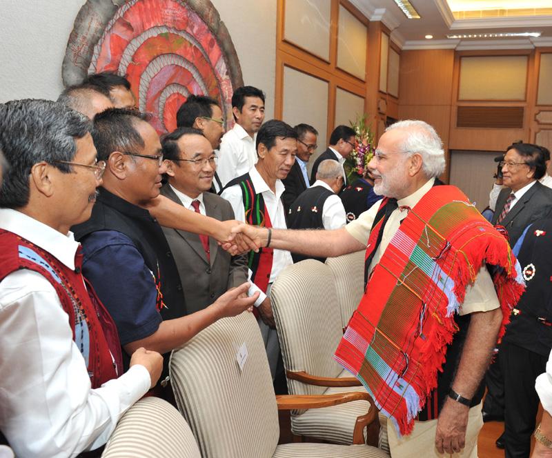 मोदी सरकार की बडी सफलता : भारत सरकार और नेशनलिस्ट सोशलिस्ट काउंसिल ऑफ नगालैंड (एनएससीएन) के बीच ऐतिहासिक शांति समझौते पर हस्ताक्षर