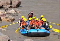 The rafting by Team Artrac, in Sutlej River on May 23, 2015.