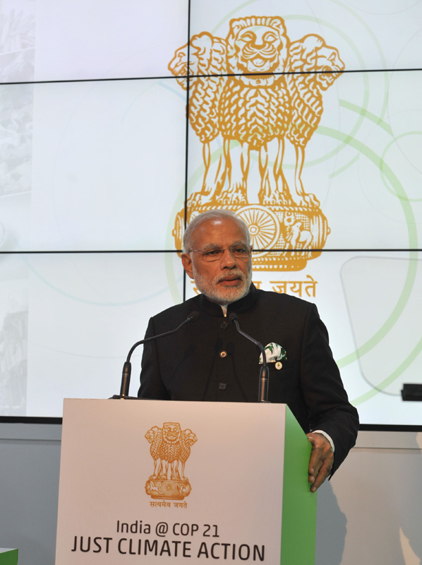 Paris summit: PM Modi for comprehensive agreement on reducing greenhouse gases