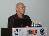 Master Class on Editing by Humphrey Dixon (Editor, UK), at the 46th International Film Festival of India (IFFI-2015), in Panaji, Goa on November 28, 2015.