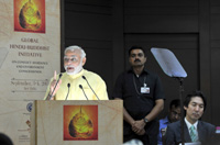 The Prime Minister, Shri Narendra Modi addressing at the