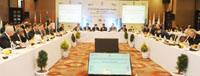 The Minister of State for Petroleum and Natural Gas (Independent Charge), Shri Dharmendra Pradhan at the inauguration of the 5th IEF- IGU Ministerial Gas Forum, in New Delhi on December 06, 2016.