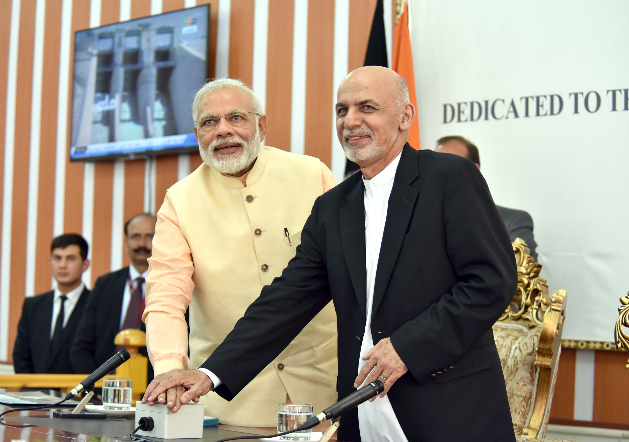 File:PM Modi & Afghanistan president Ghani jointly