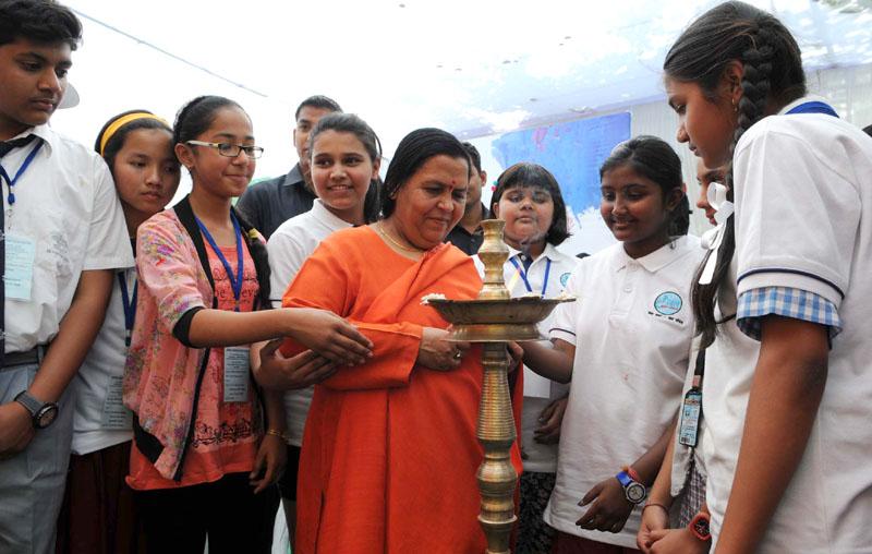 जल प्रदूषण की रोकथाम पर जागरूकता फैलाने में बच्चों की महत्वपूर्ण भूमिका - उमा भारती