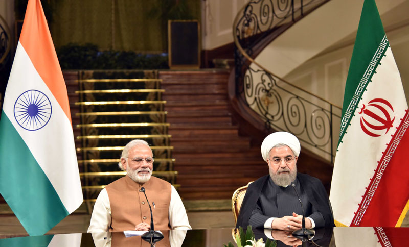 PM Modi's gift to the Hon'ble Supreme Leader of Iran and to President Rouhani