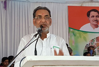 The Union Minister for Agriculture and Farmers Welfare, Shri Radha Mohan Singh addressing at the inauguration of the Pandit Deen Dayal Upadhyay Krishi Unnati Mela – 2016, in Mathura on September 26, 2016.
