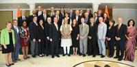 The US Congressional Delegation calls on the Prime Minister, Shri Narendra Modi, in New Delhi on February 21, 2017.