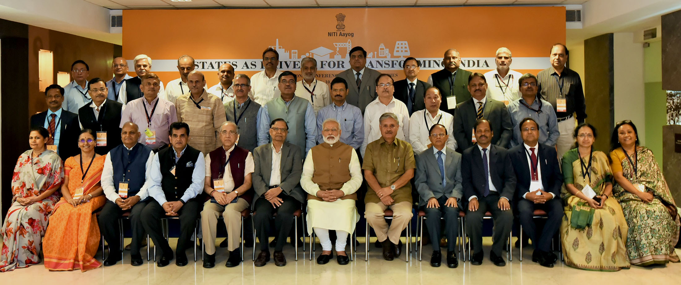 PM holds interaction with Chief Secretaries of States and Union Territories