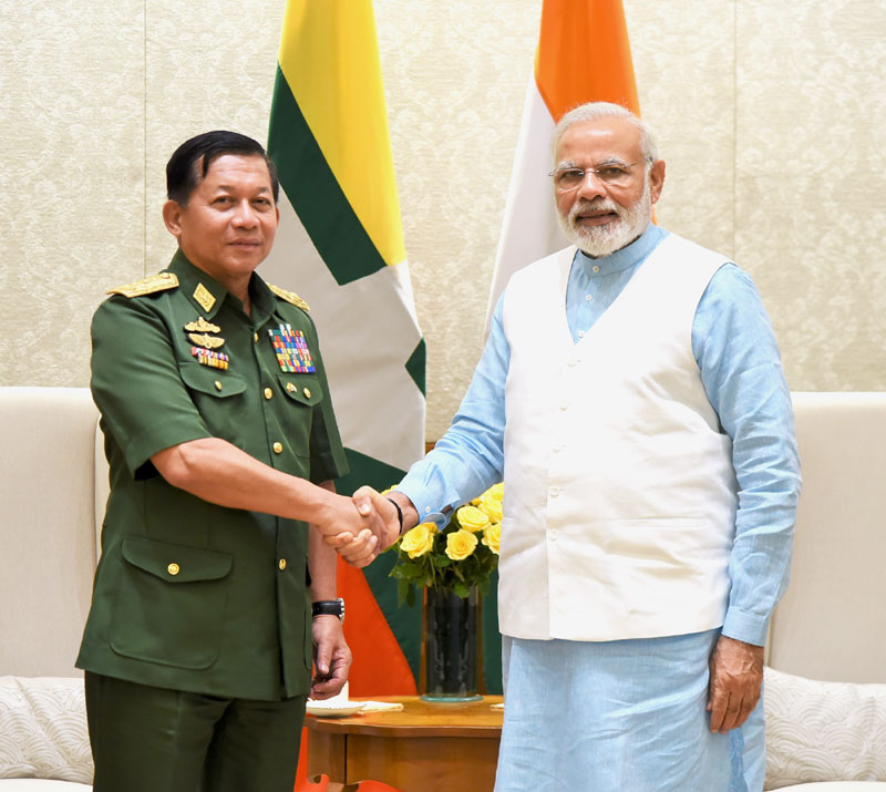 Myanmar a key pillar of Act East policy: PM Modi