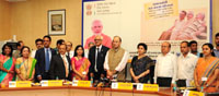 The Union Minister for Finance, Corporate Affairs and Defence, Shri Arun Jaitley at the launch of the Pradhan Mantri Vaya Vandana Yojana (PMVVY), in New Delhi on July 21, 2017. 