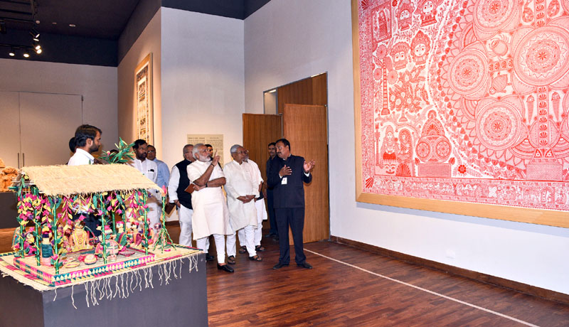 Prime Minister's Office The Prime Minister, Shri Narendra Modi visiting